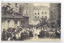 CPA DAX RECEPTION DE MONSEIGNEUR TOUZET LE 23 MAI 1906 - Dax