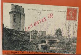 CPA  91 MONTHLERY  Ruines Du Château Fort Et Le Pont Levis , Oct 2014  Div 090 - Montlhery