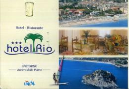 X HOTEL RISTORANTE HOTEL RIO SPOTORNO RIVIERA DELLE PALME ITALIA VIAGGIATA - Alberghi & Ristoranti