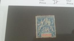 LOT 227931 TIMBRE DE COLONIE REUNION NEUF* N�37 VALEUR 37 EUROS