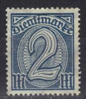 Allemagne Timbres De Service N° 27 * - Service