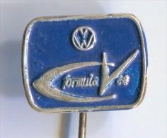 VOLKSWAGEN VW CV FORMULA - Car, Auto, Automobile, Vintage Pin, Badge - Volkswagen