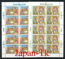 """ASERBAIDSCHAN Mi.Nr. 438-439 EUROPA CEPT """"Nationale Feste Und Feiertage"""" -1998- Kleinbogen - MNH - Europa-CEPT"""