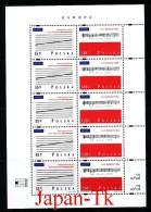 """POLEN Mi.Nr. 3714-3715 EUROPA CEPT """"Nationale Feste Und Feiertage"""" -1998- Kleinbogen - MNH - Europa-CEPT"""