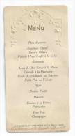 MENU Les Granges Gontardes 26 - 19 Mars 1925 - Menus
