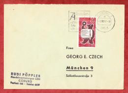 Brief, EF Rundfunk-Ausstellung Berlin, MS Absenderangabe Auf Postsendungen Bitte Nicht Vergessen Coburg 1962 (60743) - [5] Berlin