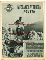 MV Agusta Moto Rivista Aziendale Per Concessionari 1950 Depliant Originale Genuine Factory Brochure Prospekt - Engines