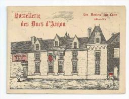 Hostellerie Des Ducs D' Anjou 49 Les Rosiers Sur Loire - Port Simple Gratuit - Publicités