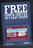 UNITED KINGDOM - CARDS  FOR COLLECTION - (  COSTA   ) - Gift Cards