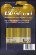 SPAIN - CARDS  FOR COLLECTION - (  TESCO  ) - Gift Cards