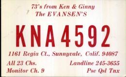 KNA 4592 USA - Radio Amatoriale
