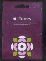 UNITED KINGDOM  - CARDS  FOR COLLECTION - (  ITUNES   ) - Gift Cards