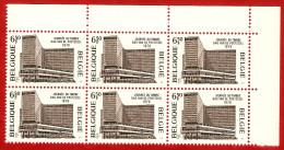 1976  -  BELGIQUE  N°  1803**   Bloc  De  6   Timbres  Neufs - Collections
