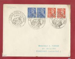 OT236 - SAUMUR Exposition Philatélique 1943 -  Oblitération Temporaire - Postmark Collection (Covers)
