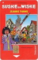 Telefoonkaart   Suske & Wiske Jeanne Panne Nieuw Oplage 500 EX RAre ! - Libros, Revistas, Cómics