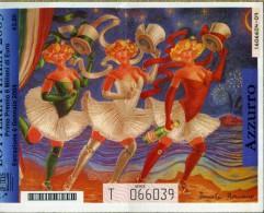 X LOTTERIA ITALIA 2003 AZZURRO - Biglietti Della Lotteria