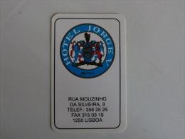 Hotel Jorge V Portuguese Pocket Calendar 1997 - Calendarios