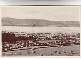 Old Postcard, Greenock & Tail Of The Bank (pk14788) - Scotland