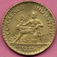 FRANCE  BON POUR 2 FRANCS 1925  DOMARD   CCF COMMERCE INDUSTRIE