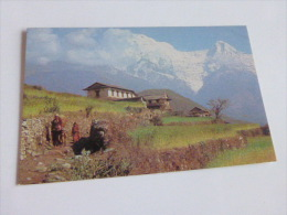 HOTEL CRYSTAL KATHMANDU  NEPAL @ VUE RECTO/VERSO AVEC BORDS @ - Nepal