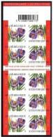 Belgium**CROCUS Vernus-FLOWERS-BOOKLET 10stamps-2002-MNH-Fleurs-Bloem-Blume-Flors-Fiori-nsc - Belgium
