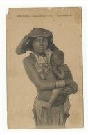 Femme Seins Nus - Mondomba Amamentando O Filho - Mossamedes - Angola - Afrique Du Sud, Est, Ouest