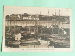 DOUARNENEZ - Les Barques Dans Le Port - Douarnenez
