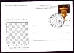 Schaken Schach Chess �checs ajedrez - Belgie - Brussel 20-3-1995