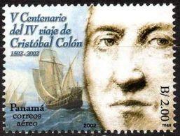 PANAMA 2002. 4e Voyage Du Navigateur Christophe Colomb (1)