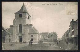 GAILLON . Place De L'Eglise . - Andere Gemeenten