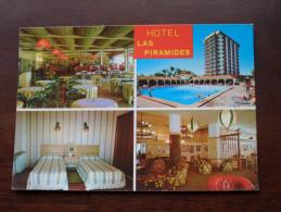 Hotel LAS PIRAMIDES Costa Del Sol Fuengirola ( 1896 ) Anno 1983 ( Zie Foto Voor Details ) !! - Hotels & Restaurants