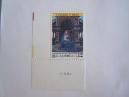Belgie Belgique 1985 Datum Date 4.XII.84 Europalia Madonna Peinture Gossaert COB 2157 MNH ** - Datiert