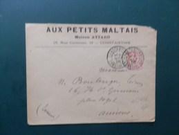 45/616   LETTRE CONSTANTINE 1902 - 1900-02 Mouchon