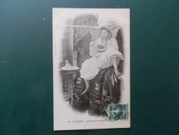 45/618  CP   ALGERIE   1908  PHILIPPEVILLE POUR PARIS - Marcofilie (Brieven)