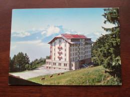 "Hotel "" LES CHAMOIS "" Leysin - Anno 1981 ( Zie Foto Voor Details ) !! - Hotels & Restaurants"