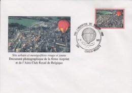 Enveloppe 1983 N° 2094 Avec FDC - Montgolfière Et Site Urbain - 06 - FDC