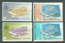 Samao: 1966   W.H.O. HQ Inauguration      MH - Samoa
