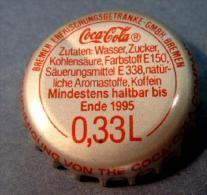 Coca-Cola Kronkorken Bremen 0,33L 1995 bottle crown cap chapa tapon corona tappi tappo capsule