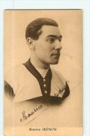Maurice DEPAUW. 2 Scans. Sportkaarten Franck Nels - Cyclisme