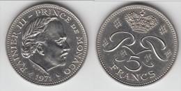 **** MONACO - 5 FRANCS 1971 RAINIER III **** EN ACHAT IMMEDIAT !!! - 1960-2001 Nouveaux Francs