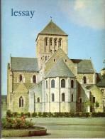 Lot 3 CPM + Livret - Lessay (50) - église Abbatiale - Autres Communes