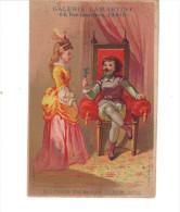 Chromo  Ancien.   Histoire De Barbe Bleue  N° 2 .  Galerie LAMARTINE  PARIS Mercerie - Chromos