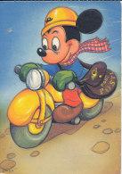 DP00457 - DISNEY 1964 MICKEY ON SCOOTER - CP ORIGINAL UNWRITTEN - Disney