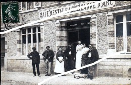 CHALONS SUR MARNE CAFE JEANNE D ARC DEUXIEMES CARTE - Châlons-sur-Marne