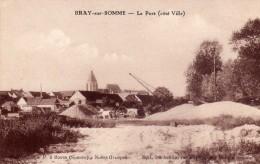 BRAY Sur SOMME    -   Le Port  (Côté Ville) - Bray Sur Somme