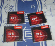 4    CDR      IMATION        80  MIN    NEUF    700  MB - Other