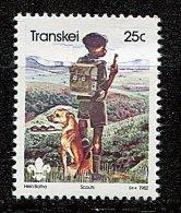 (cl 23 - P2) Afrique Du Sud  - Transkei ** N° 106 - Scout Et Son Chien  - - Afrique Du Sud (1961-...)