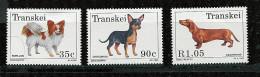 (cl 23 - P2) Afrique Du Sud  - Transkei ** N° 299 à 302 Sauf 300 - Chiens  - - Afrique Du Sud (1961-...)