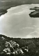 """Brandenburg Luftbild Foto AK 16244 Pionierrepublik """" Wilhelm Pieck """" am Werbellinsee 1972"""