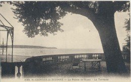 CPA 17 SAINT GEORGES DE DIDONNE La Pointe De Suzac - La Terrasse - Carte Rare - Saint-Georges-de-Didonne